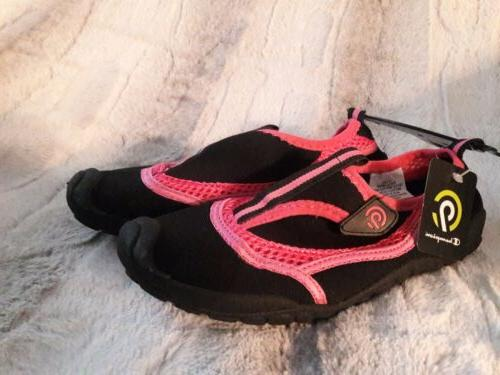 Champion girl's shoes pink/black swimming NEW