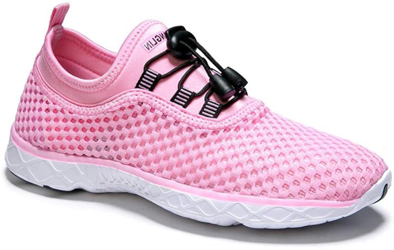 Zhuanglin Women's Quick Aqua Water Shoes Casual Walking Shoes