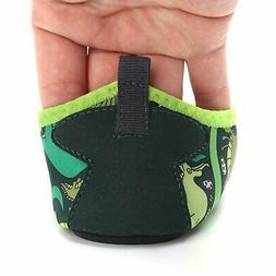 L-RUN Kids Swim Water Shoes Barefoot Aqua Socks, Dinosaur,