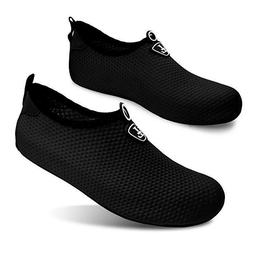 L-RUN Unisex Water Shoes Barefoot Skin Shoes for Run Dive Su