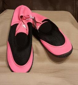 Bobbie Brooks Ladies Aqua Socks Beach / Water Shoes Size S 5