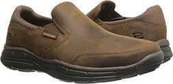 Skechers Lifestyle 64589EWW Men's Glides Calculous Shoe, Dar