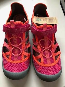 M.A.P. Brooke Water Shoe Pink Coral Girls Size 4 M New with