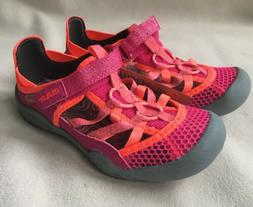 M.A.P. Girls Brook Water Active Shoes Sandals Pink Grey NWT