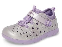 Stride Rite Made 2 Play Phibian Water Shoe Sandal Purple Met