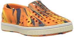 Native Kids Marbled Miles Water Proof Shoes, Marigold Orange