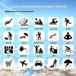 CIOR Men and Women's Barefoot Quick-Dry Water Sports Aqua