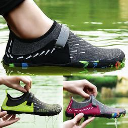 men beach barefoot water shoes quick drying
