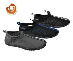 Air Balance Men's Aqua Water Shoes, Big Size 13-15, Black, B