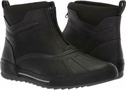 Men's Clarks Bowman Top Ankle Waterproof Boot Black Leather