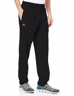 Champion Men's Closed Bottom Light Weight Jersey Sweatpant -