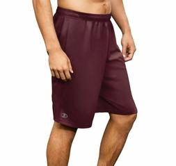 Champion Men's Core Performance Training Shorts Team Maroon