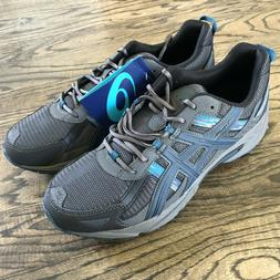 ASICS Men's GEL Venture 5 Running Shoe Black/Ink/Ocean Size
