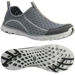 Aleader Men's Mesh Slip On Water Shoes Dark Gray 11.5 M US