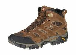 Merrell Men's Moab 2 Mid Waterproof Hiking Boot Earth