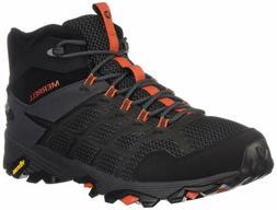 Merrell Men's Moab FST 2 MID Waterproof Hiking Shoe, Black/G