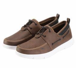 Speedo Men's Port Water Shoes Slip-on ~ Brown Pick A Size NE
