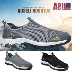 Men's Quick-Drying Mesh Water Shoes Non-slip Hiking Beach Sw