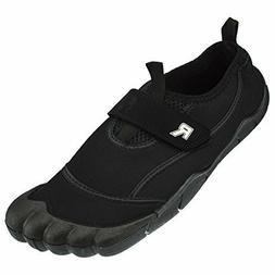 Rockin Footwear Men's Rockin Aqua Foot Water Shoe Black US S