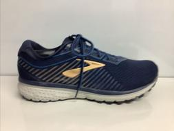 Brooks Men's Running Athletic Shoes Ghost 12 Navy Deep Water
