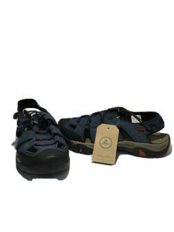 ATIKA Men's Size 7 Navy Sports Sandals Toe Cap Trail Outdoor