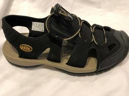 ATIKA Men's Sports Sandals Trail Outdoor Water Shoes  Black