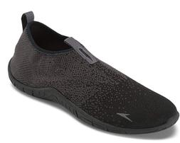 Speedo Men's Surf Knit Athletic Water Shoes -Black Grey