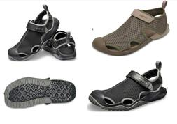 Men's CROCS Swiftwater Mesh Water Sports Sandals Shoes Vegan