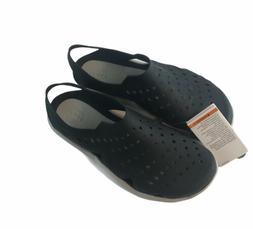 Crocs Men's Swiftwater Wave Black Water Shoes Sandals Size 8