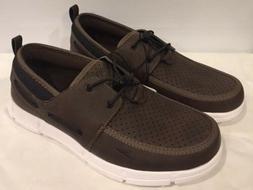 Speedo Men's Water Port Boat Dock Shoes - Black - Size 8