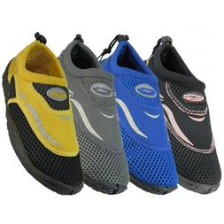 Men's Water Shoes/Aqua Socks/Pool Beach Surf Slip on Yoga Da