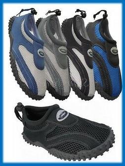 Men's Wave Water Shoes Aqua Socks for Pool Beach Yoga Exerci