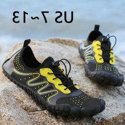 Men's Water Shoes Barefoot Quick-Dry Athletic Beach Swim Sur