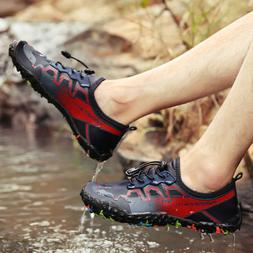Men's Water Shoes Summer Aqua Water Sneakers Wading Outdoor