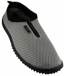 Wave Men's Waterproof Water Shoes Gry-Zpr-11 11 M US