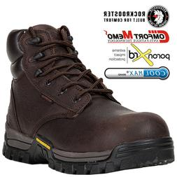 Men's Work Boots Waterproof Composite Toe Matelfree Safety S