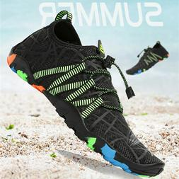 Men Swimming Water Shoes Beach Sandals Flat Soft Breathable