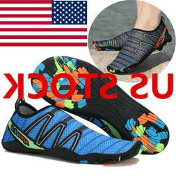 Mens Water Shoes Aqua Socks Yoga Exercise Pool Beach Swim Sl