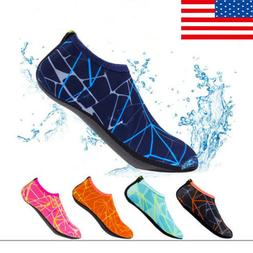 Men Water Sport Skin Shoes Aqua Socks Yoga Pool Beach Swimmi