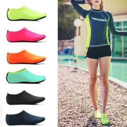 Men Women Barefoot Water Skin Shoes Aqua Socks For Beach Swi