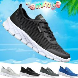Men Women Casual Mesh Water Shoes Sneaker Breathable Walk Fa