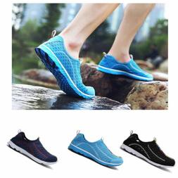 Men Women Upstream Shoes Water Shoes Lightweight Mesh Sport