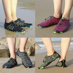 Men Women Water Shoes Barefoot Aqua Socks Quick-Dry Beach Sw