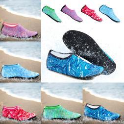 men women water shoes barefoot aqua socks