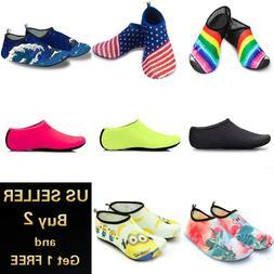 Men Women Water Shoes Barefoot Quick-Dry Socks For Beach Swi