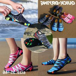 men women water shoes barefoot quick dry