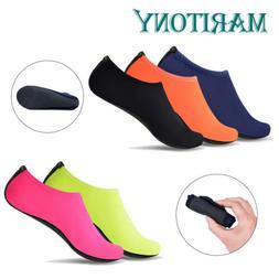 Men Women Water Shoes Barefoot Skin Quick-Dry Beach Water Sw