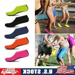 Men Women Water Skin Shoes Barefoot Aqua Socks for Beach Swi