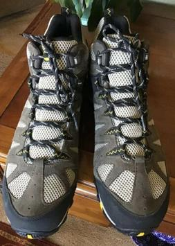 MERRELL MEN'S ACCENTOR 2 MID VENTILATOR WATER PROOF HIKING