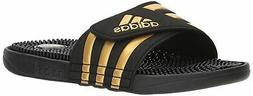 Adidas Mens adissage Low Top Slip On Water Shoes